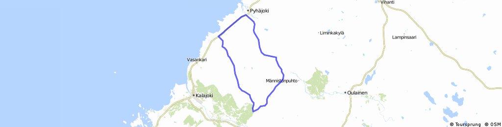 Pyhäjoki-Yppäri-Merijärvi-Pyhäjoki