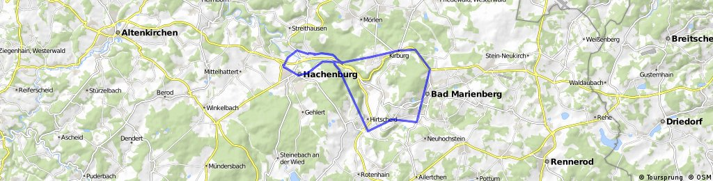 Hachenburg - Hahn Westerwald