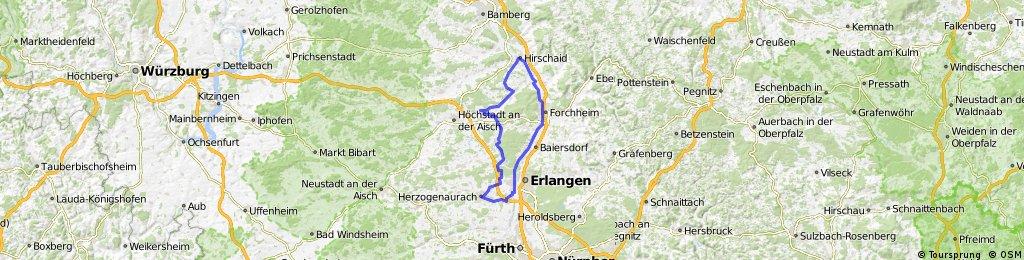 Adelsdorf - Forchheim - Herzogenaurach - Adelsdorf