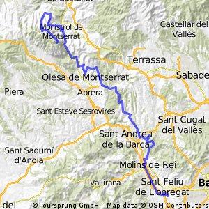 Sant Joan Despí- Montserrat