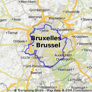 La promenade verte de Bruxelles