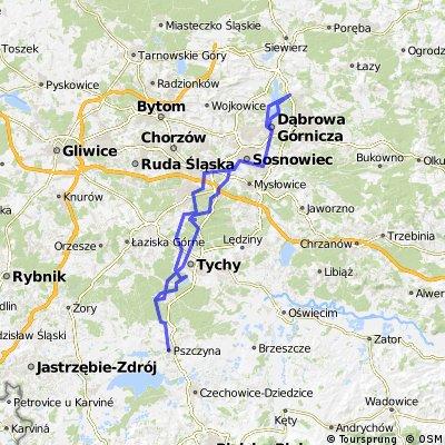 Night Biking czerwiec 2015 Pszczyna