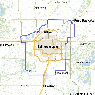 Around Edmonton