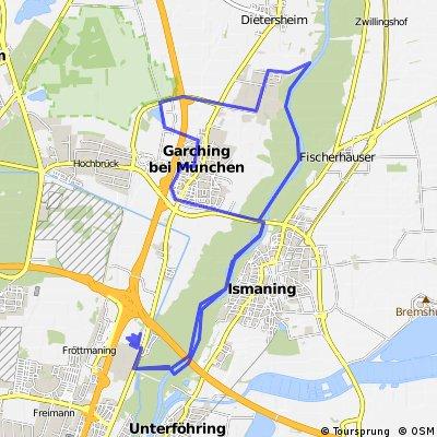 Garching - Windrad ggü. Allianz-Arena - TU Garching - Garching