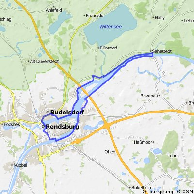 NOK 3 - Sehestedt bis Rendsburg-Schwebefähre