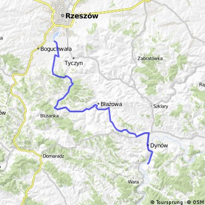 Rzeszów - Dąbrówka Starzeńska