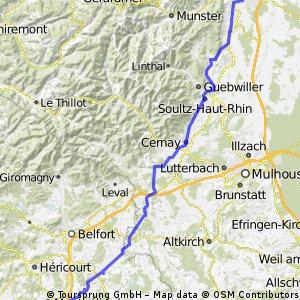 09-08-11 ERT-4.Etappe: Colmar-Montbéliard