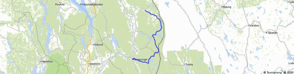 Røros-Kongsvinger - del 6 (Dæsbekken-Kongsvinger)