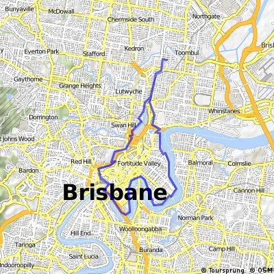 Tourist river ride-short