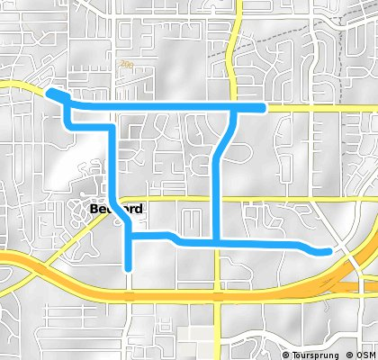 Bedford Boys Ranch Route