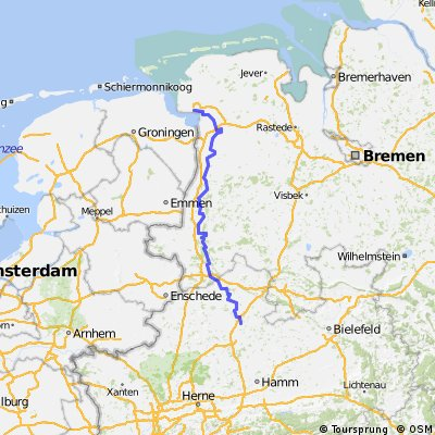 Emsradweg (GPS)