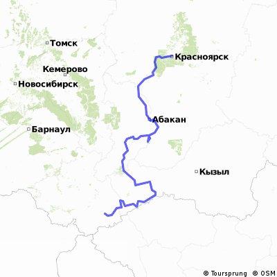 Красноярск - Кош-Агач