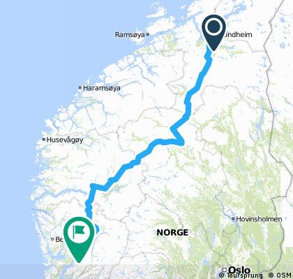 Trondheim - Norheimsund