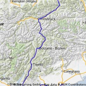Ultimative Transalp - Tour de France