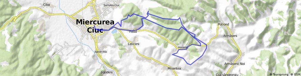 MTB Maraton Miercurea Ciuc traseul semimaraton 2015