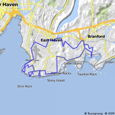 East Haven Bike Route