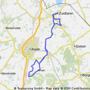Fietsen van Zuidlaren naar kamp Westerbork