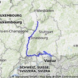 Bodensee- und Rheinradweg