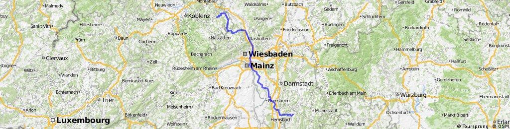 Cramberg - Lanersbach, 1.Etappe Cramber - Fürth (Ow)
