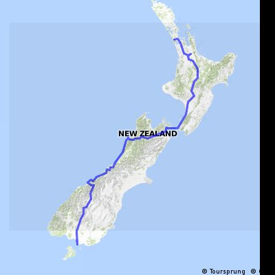 Pukeko15 (Invercargill to Auckland)