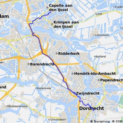 Albert Schweitzerplaats 25 (Dordrecht) - Reigerlaan 38 (Capelle aan den IJssel)
