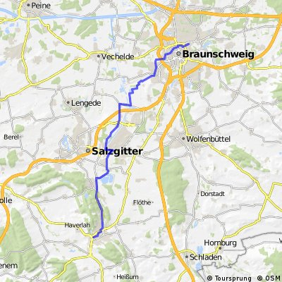 Braunschweig Weststadt nach Salzgitter-Bad