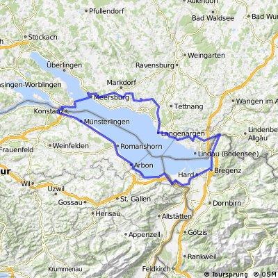 Bodensee  Radmarathon silber 2009