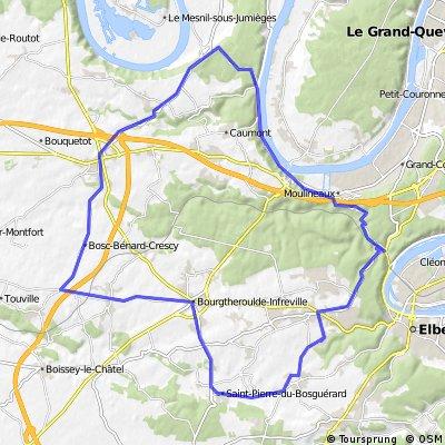 Orival la Bouille Bourg Achard