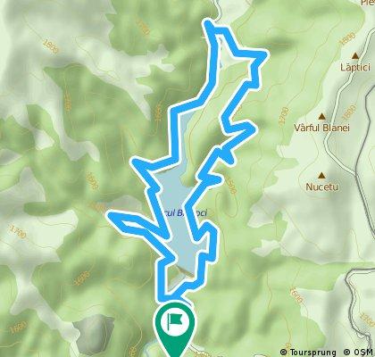 Turul Lacului Bolboci