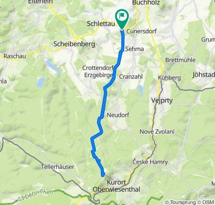 Neuamerika - Siebensäure- Reitsteig - Fichtelberg
