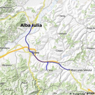 2 dzień Alba Iulia - Calnic - Miercurea Sibiului
