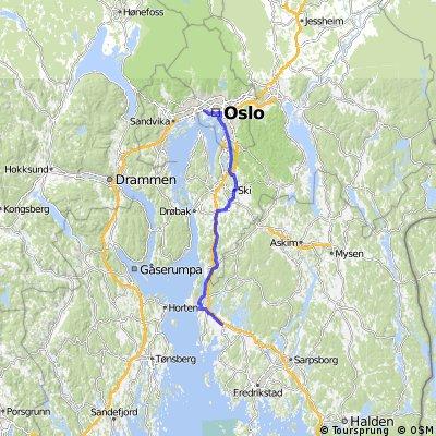 prima tappa aeroporto Oslo