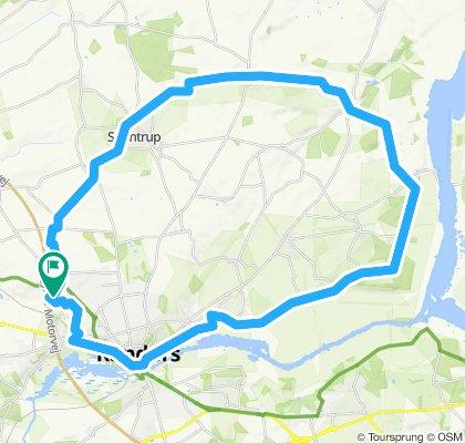 43 km Randers