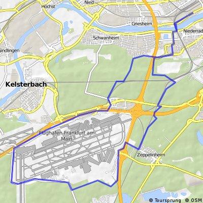 """Frankfurt a. M. """"Rund um den Rhein-Main Airport"""""""
