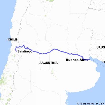 Buones Aires - Santiago