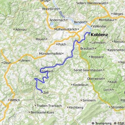 Moselradtour Trier - Koblenz Teil2