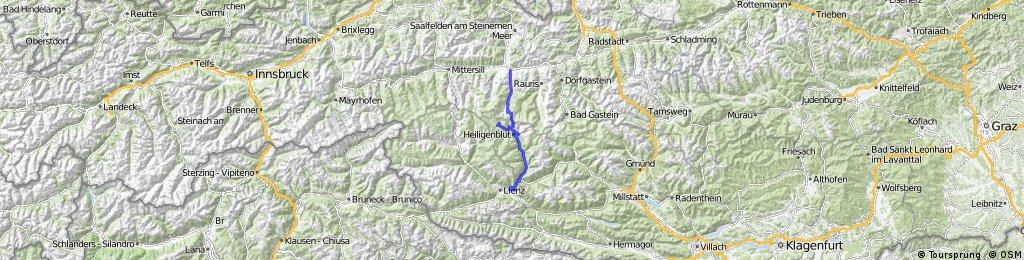 Bruck - Fuscher Törl - Hochtor - Stribach