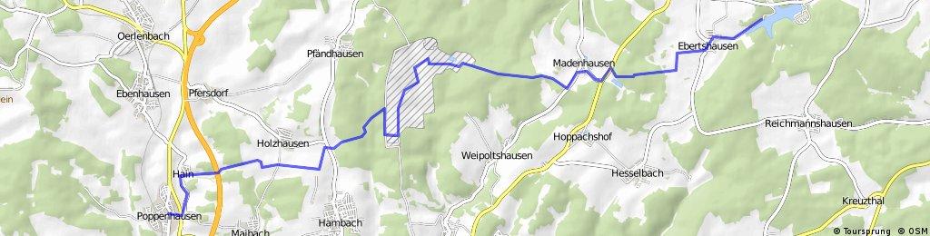 Poppenhausen - Ellertshäuser See