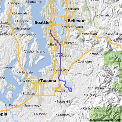 Bonney Lake - Seattle day 1
