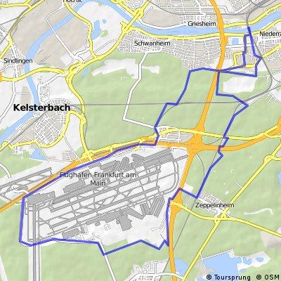 Frankfurt am Main: Rund um den Rhein-Main Airport