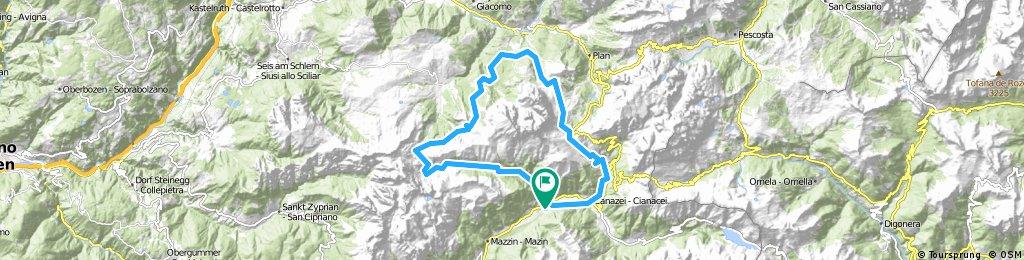 MTB Sellaronda Camp_2 diena_Sassolungo tour