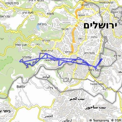 Kiryat Moria to Yad Keneddy