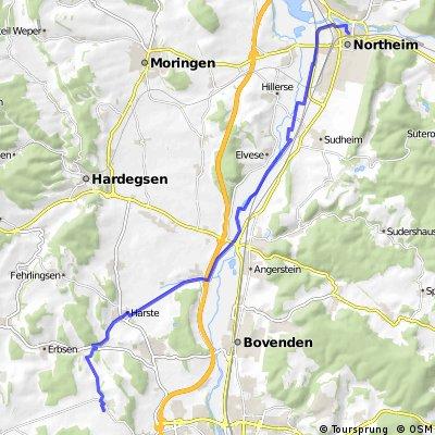 Esebeck, Kleehöfen - Northeim, Schuhwall