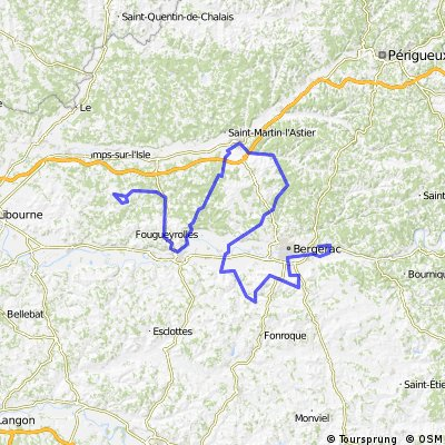 Creysse - Lac de Gurson (e1 Dordogne)