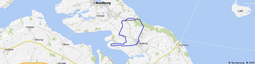 Sønderborg Kommune - 22 km Guderup