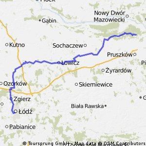 Lodz - Piatek - Lowicz - Izabelin 07.07.2008