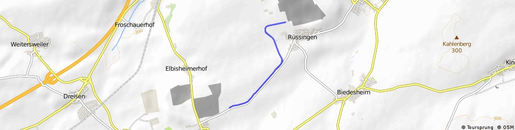 Einzelzeitfahren - Göllheim/Rüssingen