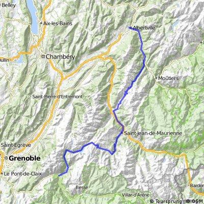Albertville - Madeleine - Croix de fer - Glandon