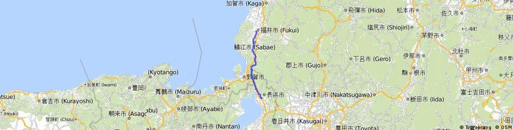 0822長濱-福井85km