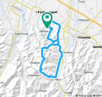 Panighina - Bracciano - Settecrociari - Collinello - Monte Cavallo